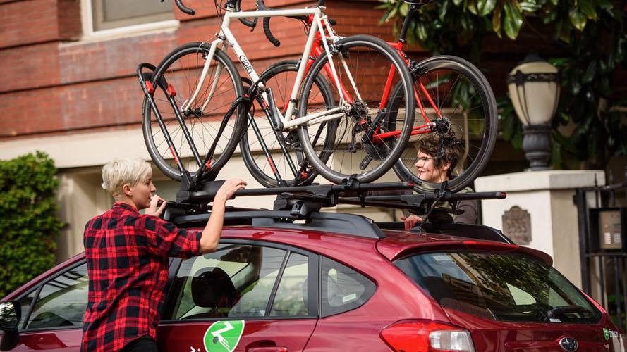 Zipcar adds Yakima roof racks for bikes, skis, and snowboards