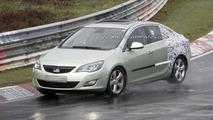 2013 Opel Astra sedan spied undergoing testing