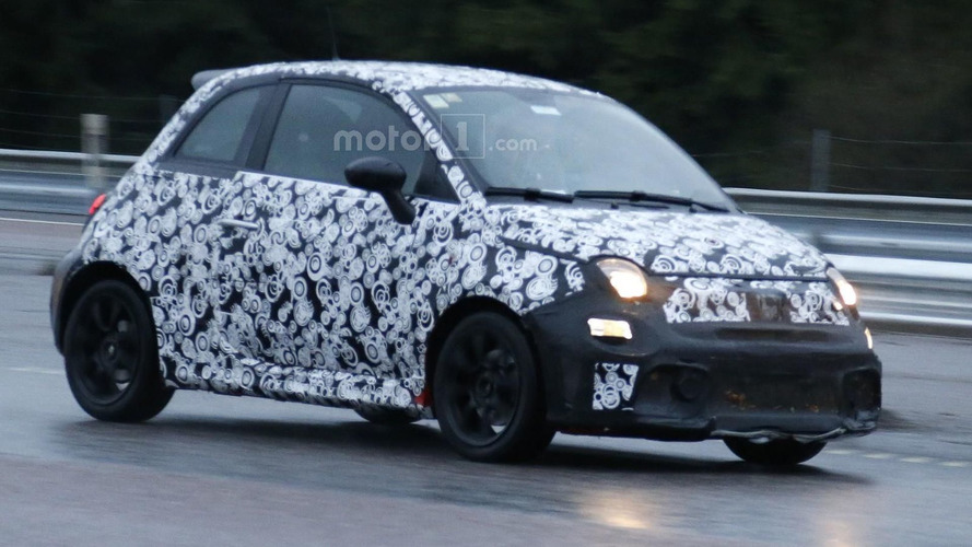 Fiat 500 Abarth facelift spied for the first time