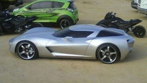 New Shot of Mysterious Corvette Concept set to Star in Transformers 2