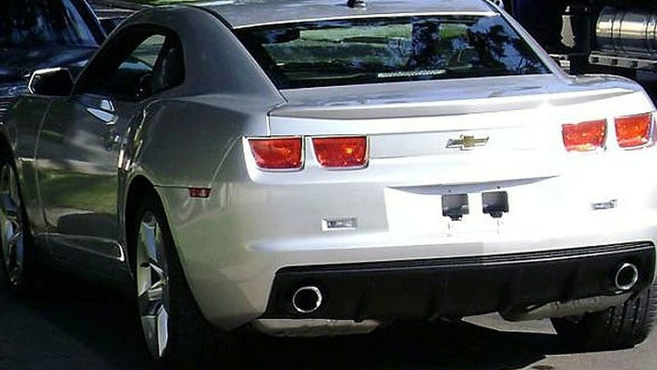 2010 Camaro SS Spy Photo