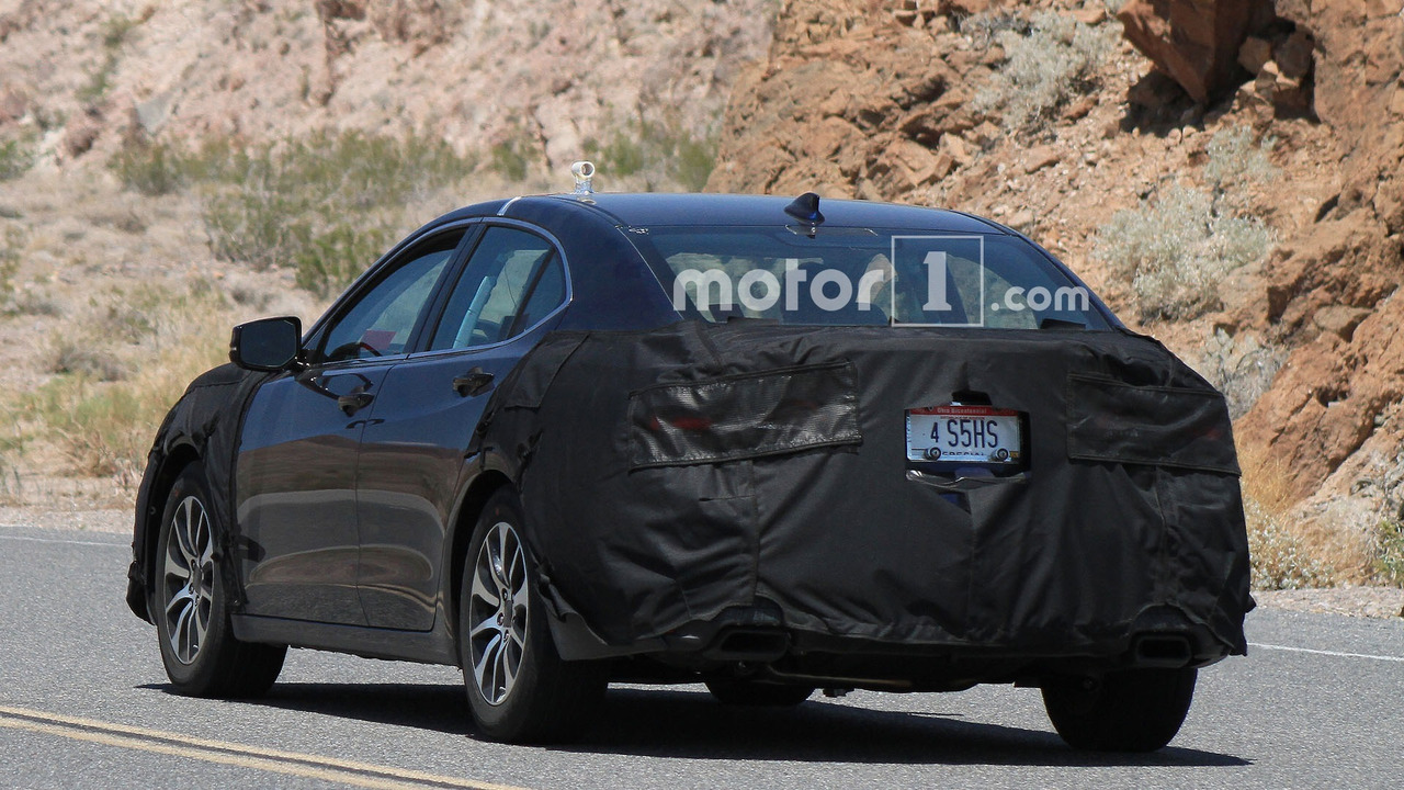 Thread spied 2018 tlx facelift caught testing with new acura grille