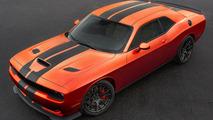 Dodge Challenger SRT, Charger SRT gain retro-flavored Go Mango paint