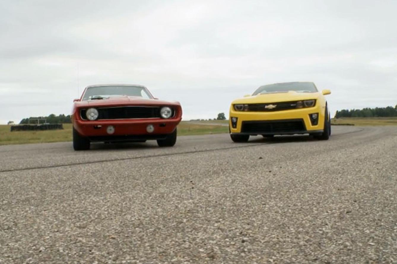 Camaro ZL1 vs 69' Camaro- Bold School vs. New School Smackdown!