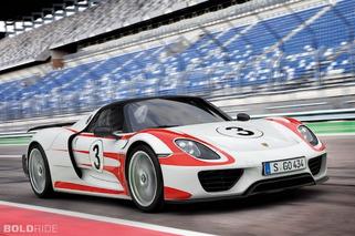 Porsche 918 Spyder Revealed: 887 HP, 78 MPG, $845K