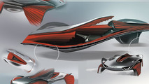 Audi Epiphany concept by by students Shihan Pi and Yjing Zhang from the Royal College of Art in London 26.11.2012