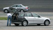 New Mercedes C-Class Estate Spy Photos
