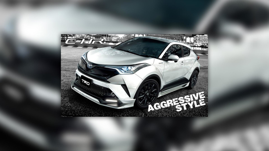 Toyota C-HR by TRD debuts at Tokyo Auto Salon with polarizing design