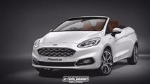 Ford Fiesta Cabriolet - Et si elle ressemblait à ça ?