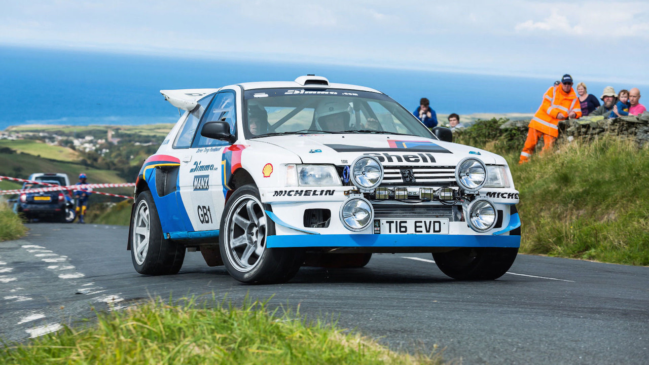 peugeot 205 t16 rally car is actually an evo underneath. Black Bedroom Furniture Sets. Home Design Ideas
