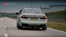 Watch BMW 750Ld xDrive runs through the gears at full throttle