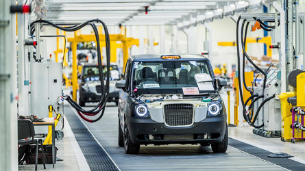 New $500 Million Electric London Taxi Plant Opens In Coventry