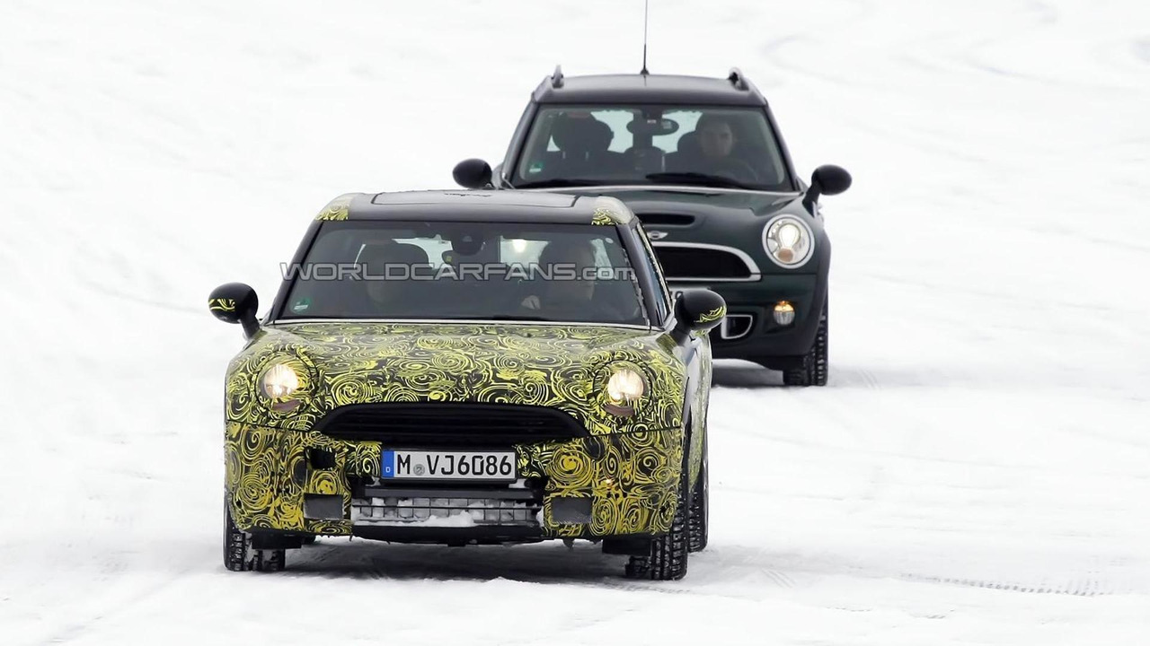 2014 MINI Clubman spy photo