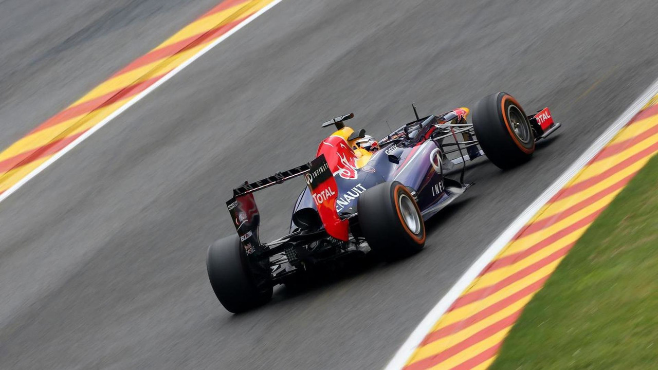 Sebastian Vettel (GER), Red Bull Racing 23.08.2013. Formula 1 World Championship, Rd 11, Belgian Grand Prix, Spa Francorchamps