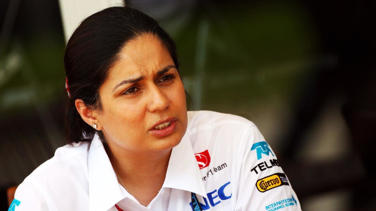 Monisha Kaltenborn (AUT) Sauber Team Principal 22.03.2013 Malaysian Grand Prix