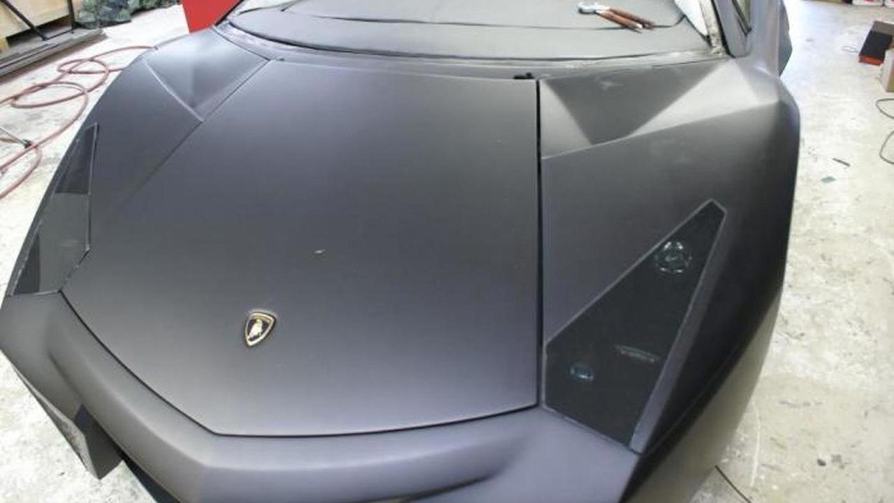 Lamborghini Aventador Roadster replica 29.10.2013
