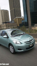 2006 Toyota Yaris Sedan Launched (Australia)