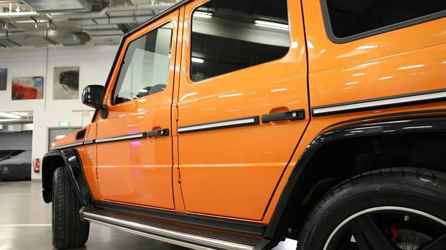 Mercedes-Benz G63 AMG Crazy Color Edition showcased in Berlin