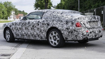 Rolls-Royce Ghost Coupe spied