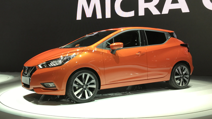 Video: 2017 Nissan Micra at the Paris Motor Show