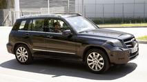 2012 Mercedes GLK facelift spy photo - 4.7.2011