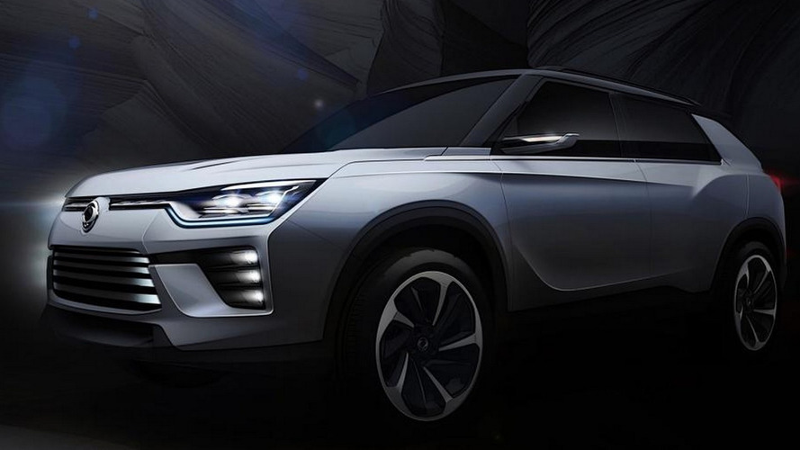 2016 SsangYong SIV-2 concept previews bigger SUV