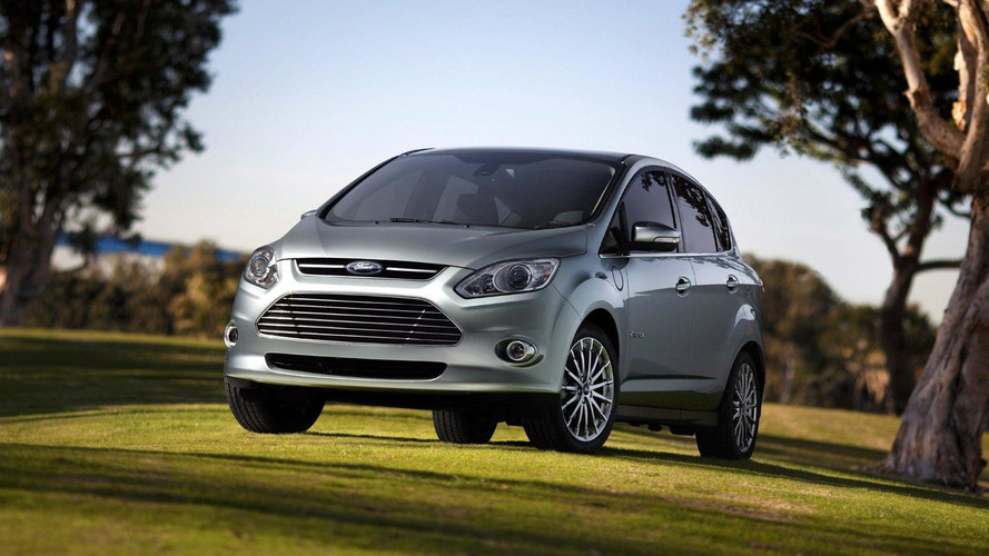 Ford reveals a pair of C-MAX hybrids due in 2013