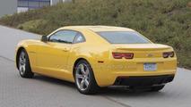Updated 2011 Chevrolet Camaro spied