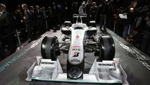 Mercedes GP MGP W01 car launch - 25.01.2010