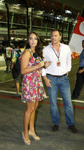 Tamara Ecclestone (GBR), Daughter of Bernie Eccelestone, Singapore Grand Prix, 27.09.2009 Singapore