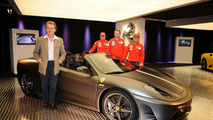 Ferrari name road car in F1 title tribute
