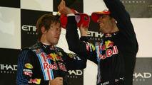 Vettel happy own teammate is 'main opponent'