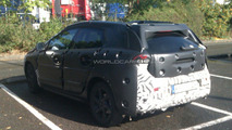 2012 Volvo V30 first time spied on the road