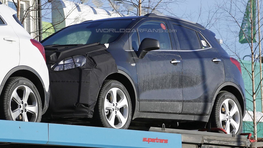 Opel Mokka facelift spied for the first time