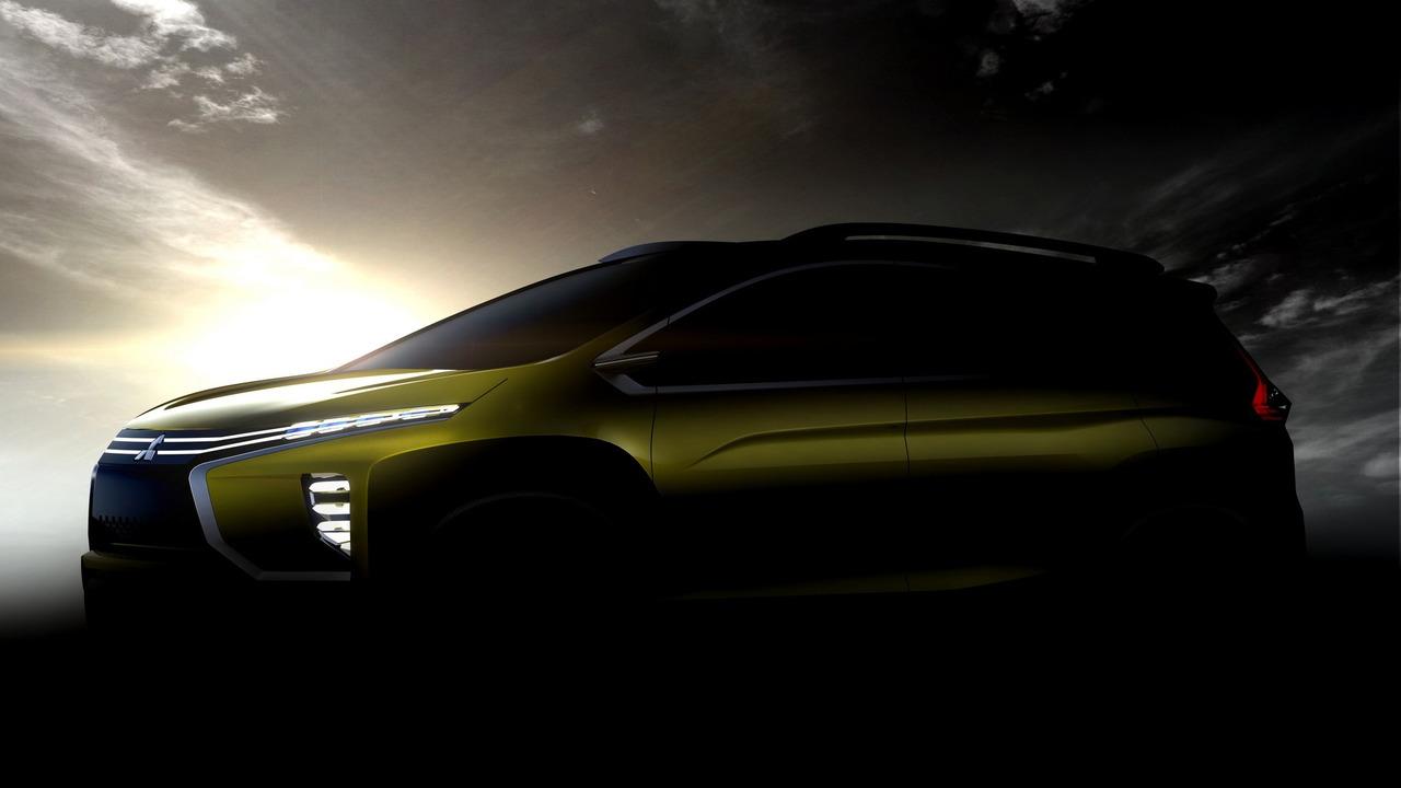 Mitsubishi crossover/MPV concept teaser