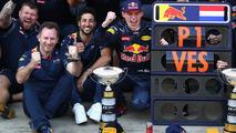 Red Bull Racing Team celebrateс