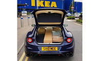 Ferrari FF at Ikea