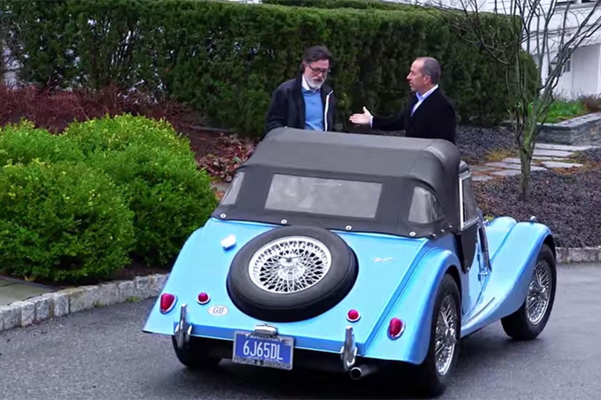Julia Louis-Dreyfus, Stephen Colbert Entertain Seinfeld in 'Comedians in Cars Getting Coffee' Season 6