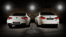 BMW 5-Series and 6-Series Coupe styled by Vilner [video]