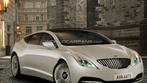 Lagonda Sedan Artists Rendering