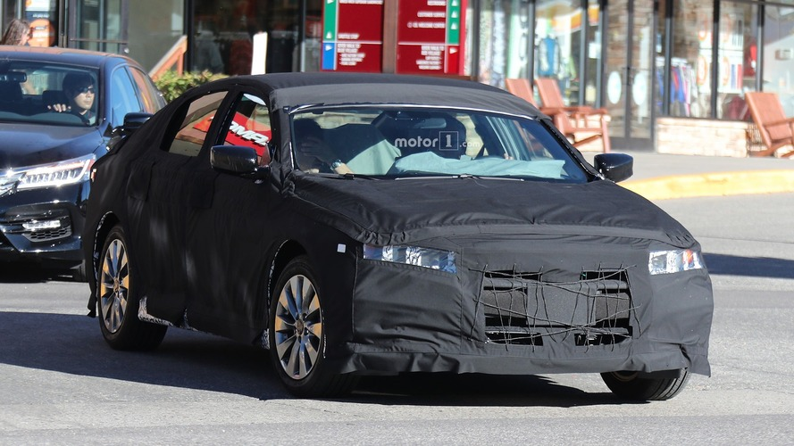 2018 Honda Accord spied at the mall