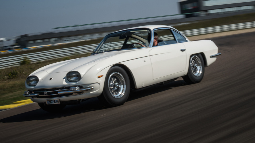 1964 Lamborghini 350 GT painstakingly restored, promptly hits the track