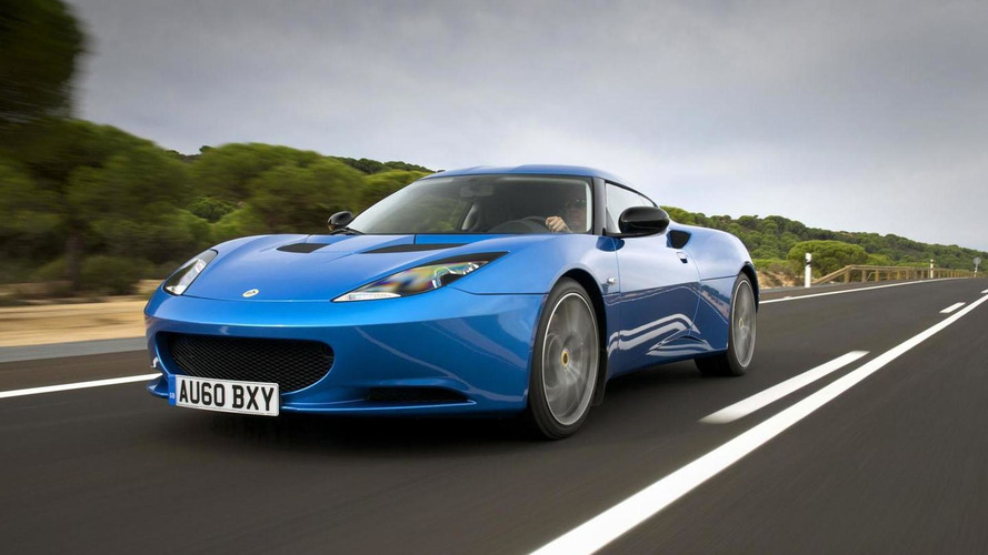 Lotus Evora recalled because of a missing sticker