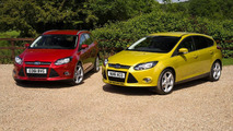 Ford Focus with 1.0-liter EcoBoost engine 30.01.2012