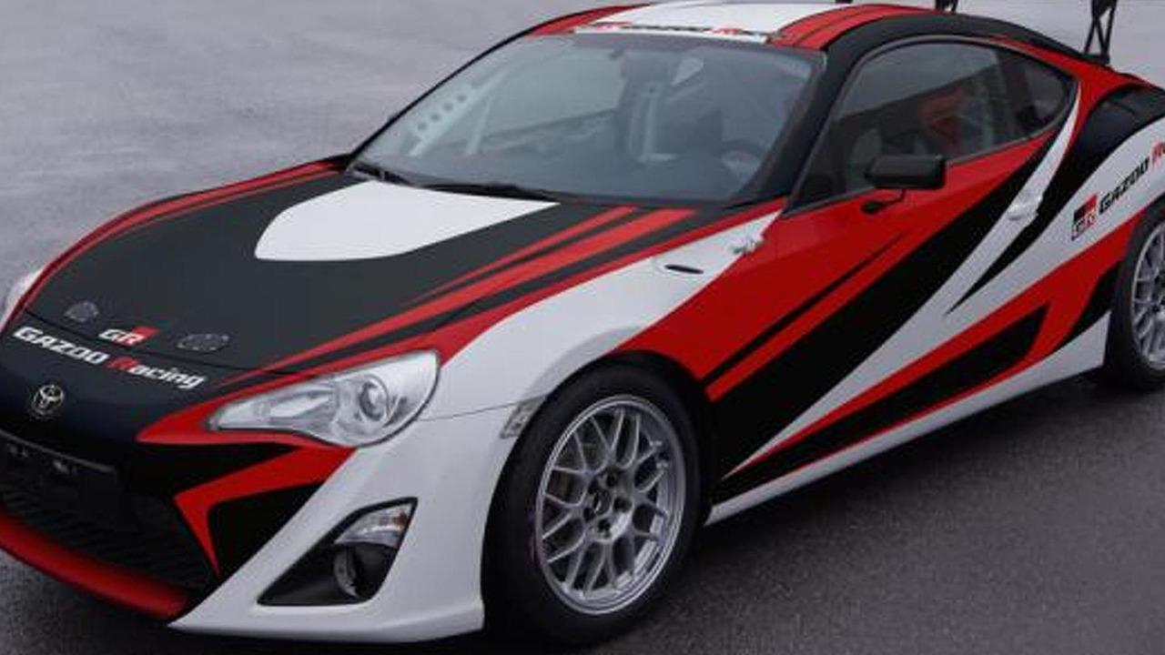 Toyota / Gazoo Racing GT 86 race car - low res - 06.4.2012