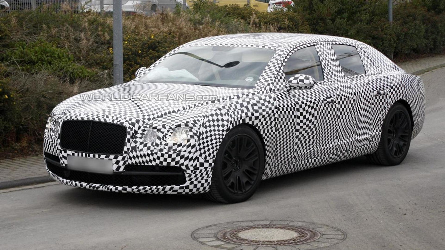 2014 Bentley Continental Flying Spur spied again