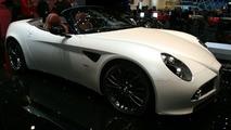Alfa Romeo 8C Spider at Geneva