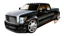 2011 Ford F-350 Super Duty by Hulst Customs for SEMA - 25.10.2011