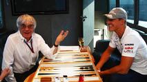 Ecclestone tips Schumacher to 'wake up'