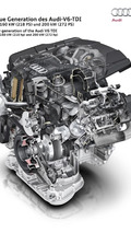 Audi introduces V6 3.0 TDI Clean Diesel engine with 218 and 272 PS
